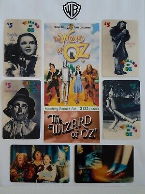 1994 Wizard of Oz 6 Card Set #3132 of 5000