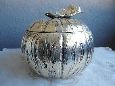 Ancien Seau A Glacons Mauro Manetti Forme De Courge Citroille Ice Bucket