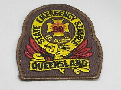 Collectable State Emergency Service Queensland Patch / Badge