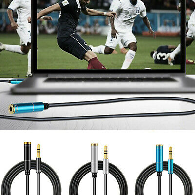 Stereo 3.5mm Jack Male to Female Stereo Headphone Aux Audio Cord Extension Cable