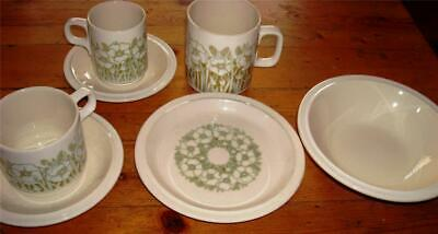 Hornsea Fleur Tea or Coffee Cup, Tea or Coffee Saucer, or Side Plate