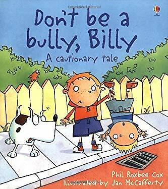 Don't Be a Bully, Billy!-ExLibrary