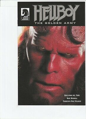 Hellboy : The Golden Army # 0 !!6! Movie Now !! Mike Mignola !! .99 Auctions