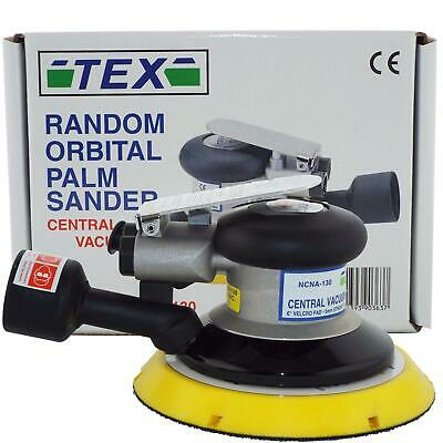 "Indasa Tex NCNA-130 150mm 6"" High Performance 5mm Random Orbit Air Sander"