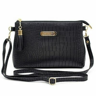 Women Tassel Decorated Small Pu Leather Messenger Bags