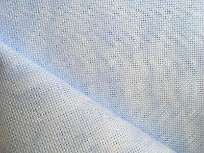 Vintage Blue Sky 14 Count Zweigart Aida cross stitch fabric -  size options