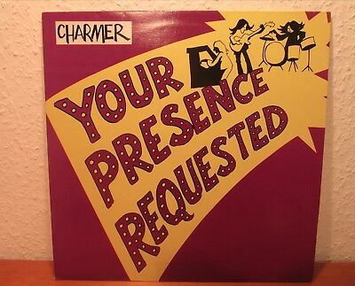 Charmer Your Presence Requested Vinyl Lp  Release Psychedelic