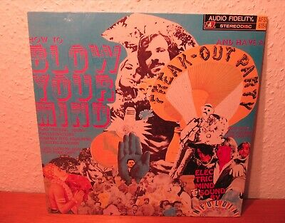 THE UNFOLDING HOW TO BLOW YOUR MIND & HAVE A FREAK OUT PARTY LP 90s REISSUE