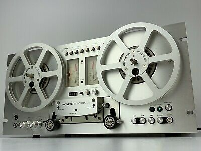 Pioneer RT-707 Auto Reverse Reel to Reel Deck - PR-85 Take Up Reels Pro Serviced