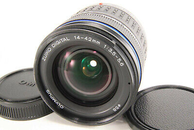 Olympus Zuiko Digital 14-42mm f/3.5-5.6 ED Lens For Four Thirds DSLR [Excellent]