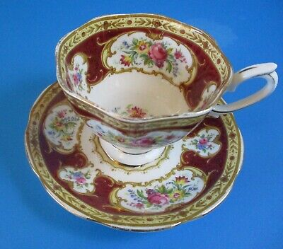Royal Albert Lady Hamilton Cup & Saucer Excellent Condition Combine Shipping