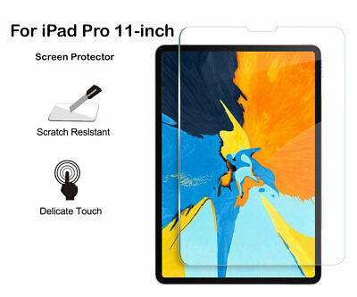 For iPad Pro 11 (2018) - inch PET Ultra Clear/Tempered Glass Screen Protector