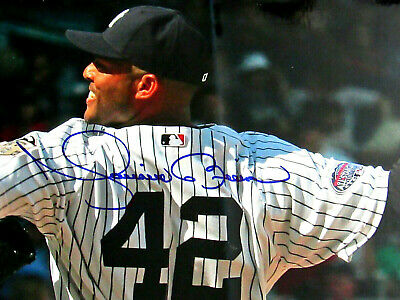 Mariano Rivera Hof New York Yankees Signed Auto 8 X 10 Color Photo Jsa Authentic