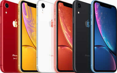 Apple iPhone XR  - 64GB 128GB - Unlocked SIM Free Smartphone GRADED