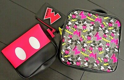 DISNEY MICKEY MOUSE NEON Toiletry Bag / Cosmetics / Make Up Bag LICENSED PRIMARK
