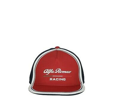 Alfa Romeo Racing Official Adults Team Flatbrim Cap - 2019