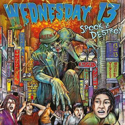 Wednesday 13 - Spook & Destroy CD ALBUM NEW (13TH JUNE)