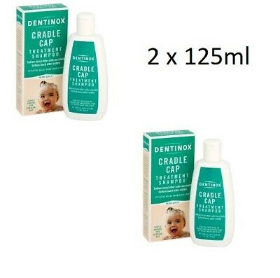 2 x Dentinox Cradle Cap Baby Shampoo 125ml