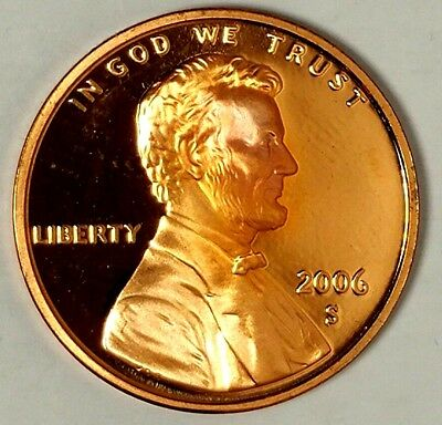 2006-S 1C Lincoln Memorial Cent 18lor0911 GDC Proof Only 50 Cents for Shipping