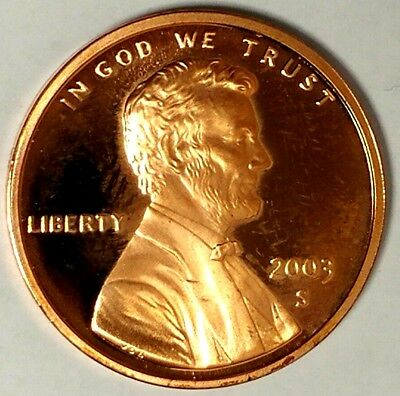 2003-S 1C Lincoln Memorial Cent 18sh1013 GDC Proof Only 50 Cents for Shipping