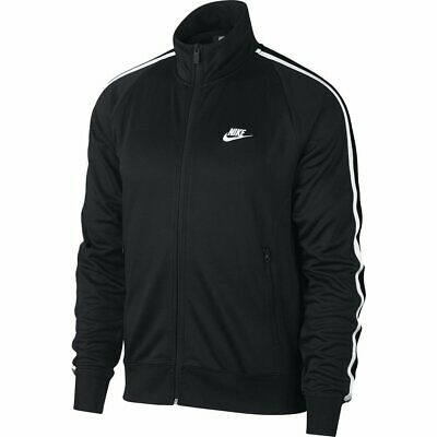 Mens Nike N98 Tribute Jacket Track Top White Cream Black 861648 072 XXL | eBay