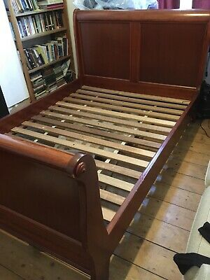 Antique Double French Bed, Walnut, Good condition
