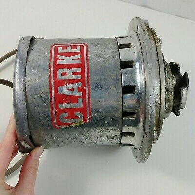 Clarke FM-13 Floor Buffer Maintainer Replacement Motor & Clutch OEM - Lot #4