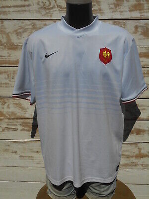 FRANCE Jersey Maglia Maillot FFR Nike Rugby 2011 2012 Away IRB Tournoi 7 Gil Cup