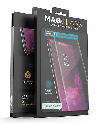 For Samsung Galaxy S10 Plus Otterbox Defender Tempered Glass Screen Protector