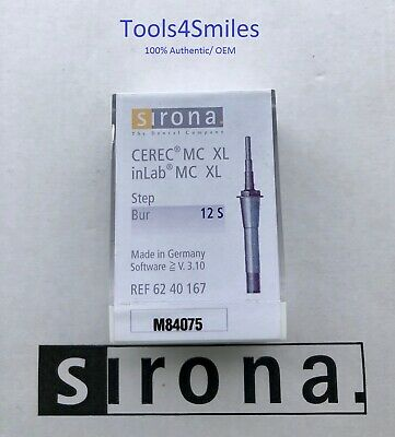 Cerec MC XL inLAB MC XL Step Burs 12S Sirona OEM