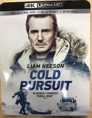 Cold Pursuit(4K Ultra Hd+Blu-Ray+Digital)W/Slipcover New Free Shipping