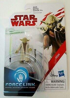 Star Wars The Last Jedi Yoda Force Link Action Figure Kids Toy New