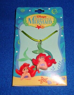 Disney The Little Mermaid Ariel Necklace Carded NOS