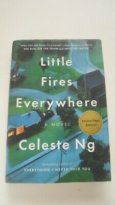 Little Fires Everywhere by Celeste Ng (Signed First Edition 2017 hardcover, 4be)