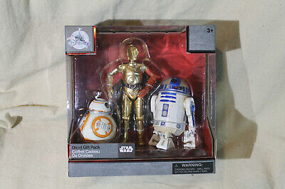 Disney Exclusive Star Wars The Elite Series Droid R2-D2, C-3PO, BB-8 Gift Pack 3