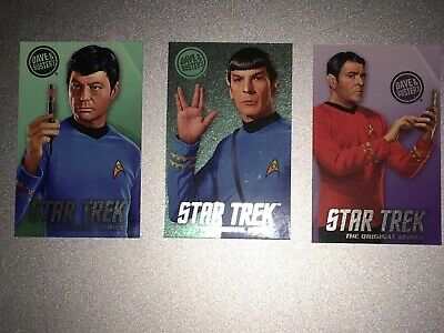 Dave and Busters Star Trek Limited Edition Foil Cards - Spock