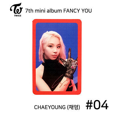 TWICE - 7th mini album FANCY YOU Official Photocard - CHAEYOUNG #04