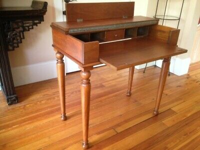 Antique Writing Desk (fold out) Perfectly reconditioned