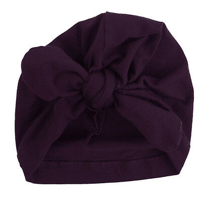 Infant Baby Toddler Kids Boy Girl Bowknot Cute Soft Cotton Beanie Hat Warm Hat