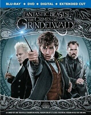 Fantastic Beasts: The Crimes of Grindelwald (used) Blu-ray Only Disc Please Read