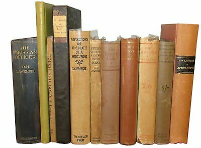 D H Lawrence / GROUP OF D H LAWRENCE FIRST EDITIONS 1914