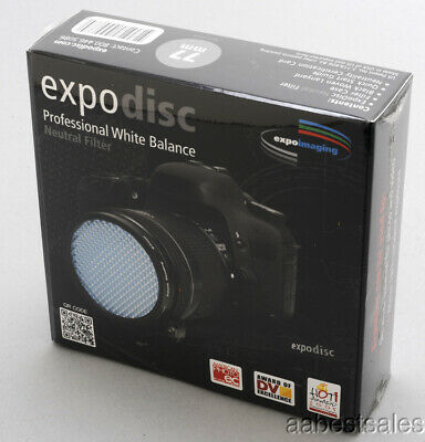 77mm EXPODISC PROFESSIONAL WHITE BALANCE NEUTRAL FILTER - NEW!
