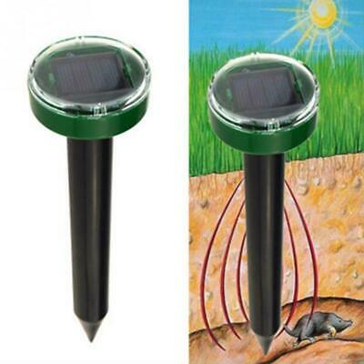 Garden Solar Power Ultrasonic Mole Snake Mouse Pest Mosquito Repellers Repellent