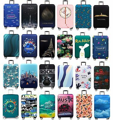 """18""""-32"""" Dustproof Elastic Luggage Suitcase Cover Bag Dust Protector Trolley Case"""
