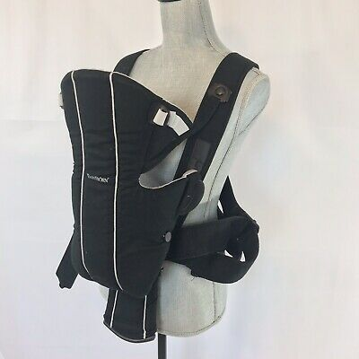 Baby Bjorn Lumbar Back Support Black Red Infant Carrier Sporty