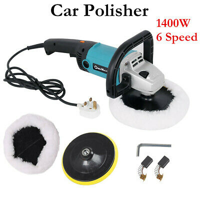 NEW 1400W Car Polisher Sander Buffer Rotary Car Polishing Machine Skin