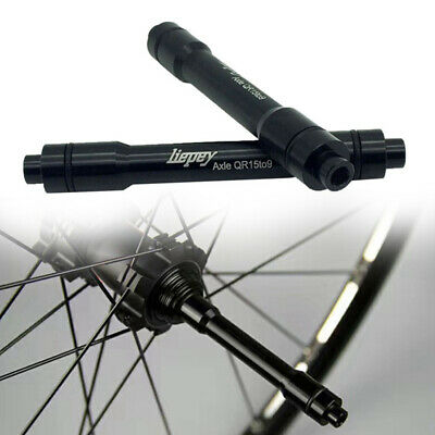 15mm Thru Axle Hub Adapter To 9mm Quick Release QR Skewer MTB Bicycle