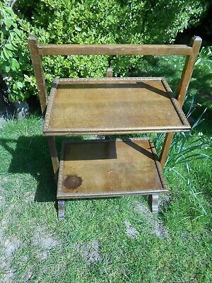 Vintage Butlers Tray Wooden, Cake Stand, Sandwich Stand. Tea Party. Collectable.