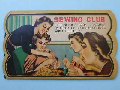 "Vintage Needle Case Collectable ""Sewing Circle"""