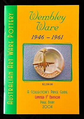 Wembley Ware Pottery 1946-61 Collector's Price Guide, Limited Edition, Excellent